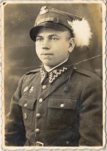 Leon S-owik w  mundurze 2 pu-ku strzelców podhala-skich