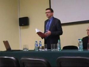 Redaktor naczelny dr Dariusz Iwaneczko. Fot. S. Bury