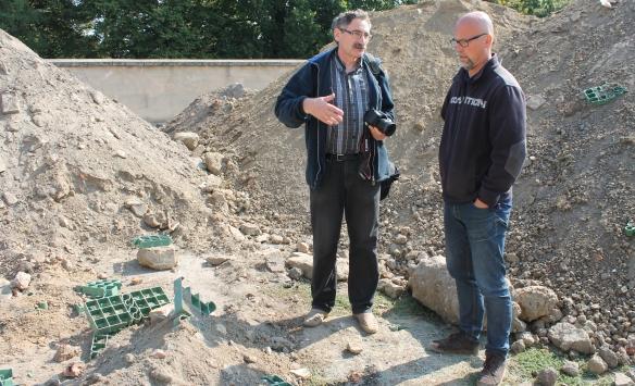 Adam Sapeta w rozmowie z prof.Maciejem Trzcińskim (Fot.Marcin Maruszak)