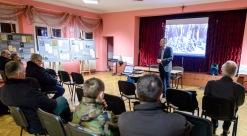 4 marca 2016 roku. Otwarcie wystawy IPN poświęconej Hieronimowi Bednarskiemuw Osiedlowym Domu Kultury na  Drabiniance
