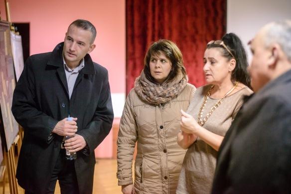 4 marca 2016 roku. Otwarcie wystawy IPN poświęconej Hieronimowi Bednarskiemuw Osiedlowym Domu Kultury na Drabiniance .
