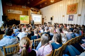 4 marca 2016 roku. Prelekcja o Żołnierzach Wyklętych w Zespole Szkół Muzycznych w Rzeszowie