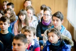 4 marca 2016 roku. Uczniowie Zespołu Szkół Muzycznych w Rzeszowie podczas lekcji o Żołnierzach Wyklętych