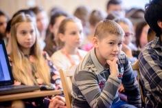 4 marca 2016 roku.Uczniowie Zespołu Szkół Muzycznych w Rzeszowie podczas lekcji o Żołnierzach Wyklętych